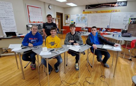 Wilton Scholastic Bowl A Team Wins First at Chariton Competition