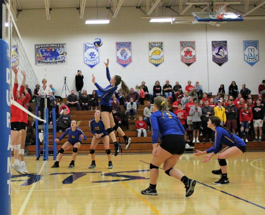 Wilton+Volleyball+Team+Punches+Their+Ticket+to+State+With+Their+Big+Win+Against+West+Branch
