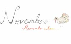 November Remember Whens