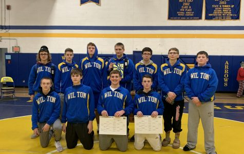 WIlton's Wrestling Team Won 1st place at Willard Howell
