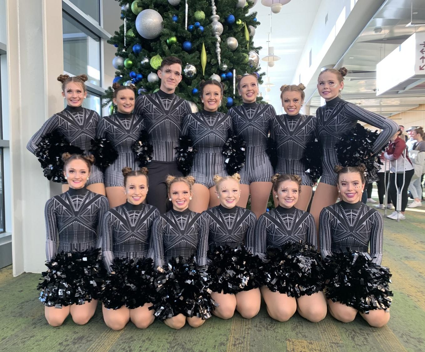 Wilton Stepperette Team at State Dance