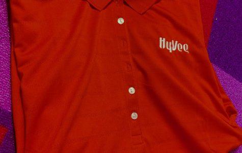 Becky Imhoff's work uniform from her summer job.