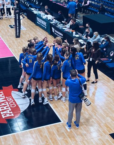 Making History in Blue and Onto the Road to State