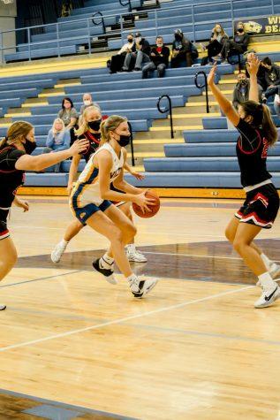 Girls and Boys Basketball throughout the season