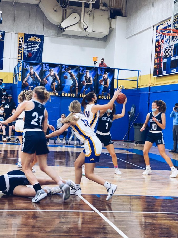 Girls defense